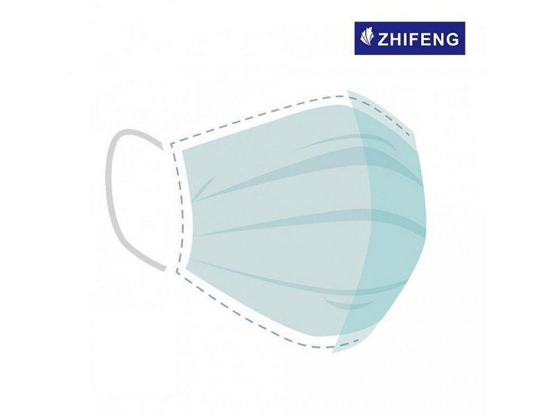 ZHIFENG™ - Chirurgické roušky, typ IIR (50ks)