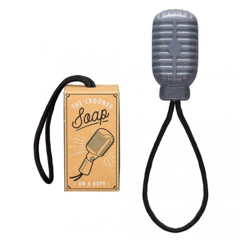 Mýdlo v podobě starého mikrofonu - Crooner