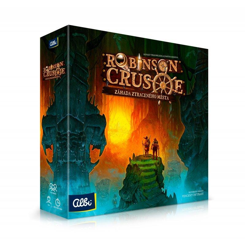 Hra ALBI Robinson Crusoe: Záhada ztraceného města