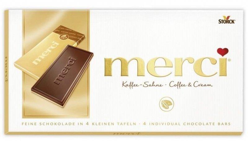 Smetanová čokoláda s kávovou příchutí na bílé čokoládě 100 g