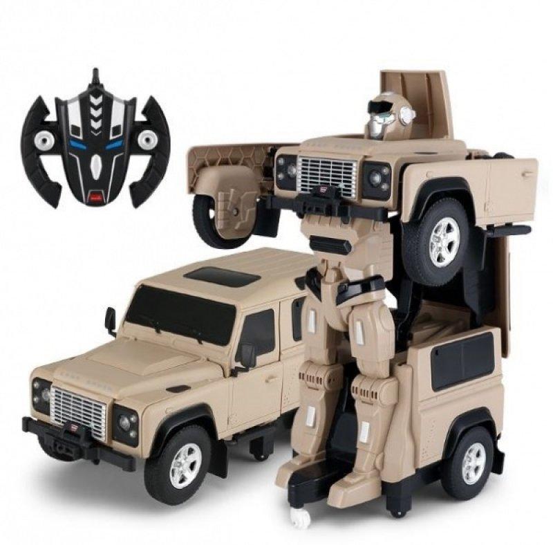 Land Rover Transformer 1:14 - žlutý