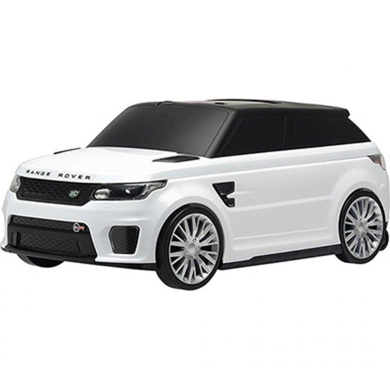 Dětské odrážedlo a kufřík 2v1 - Range Rover SVR white - bílá