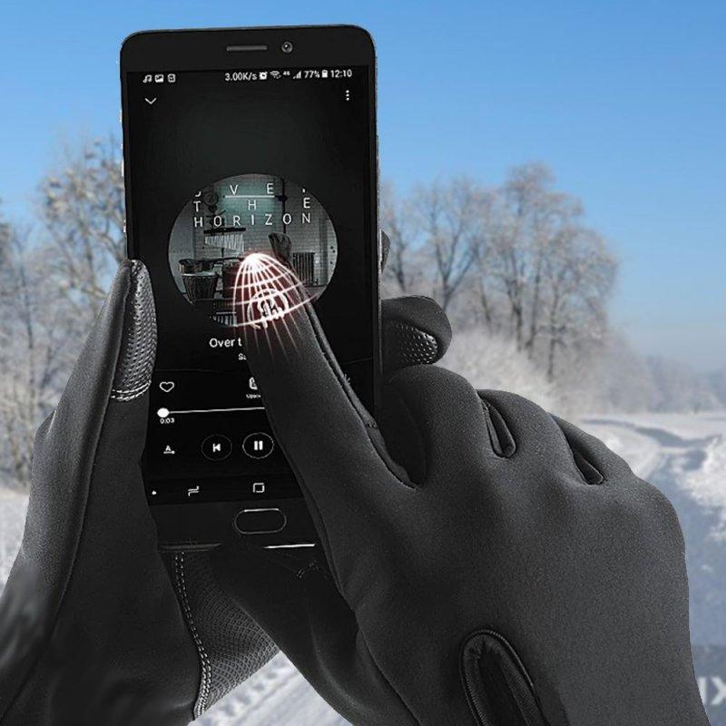 Dotykové rukavice - XL