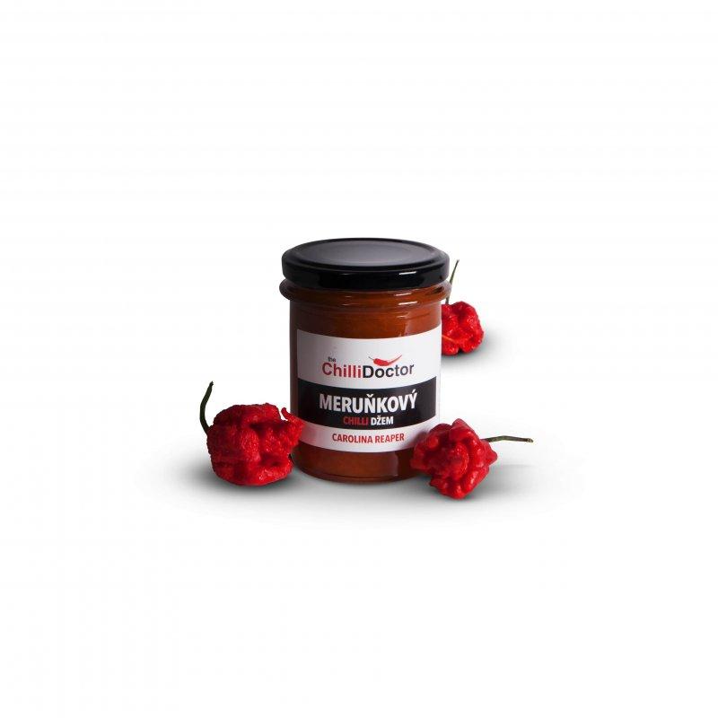 Meruňkový džem s Carolina Reaper 222 g