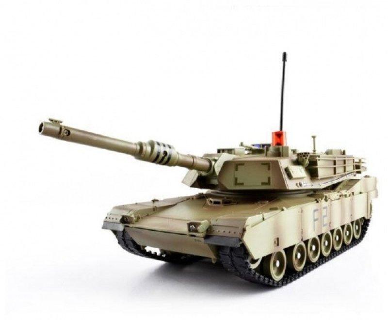 MZ M1A2 Abrams 1/14 - zelená kamufláž