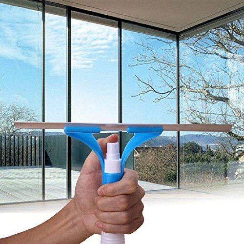 Stěrka s rozprašovačem - modrá