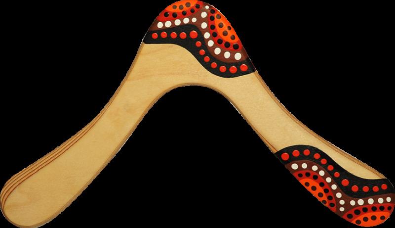 Bumerang Waak - Tmavé dřevo