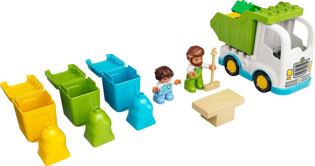 LEGO DUPLO Popelářský vůz a recyklování 10945 STAVEBNICE