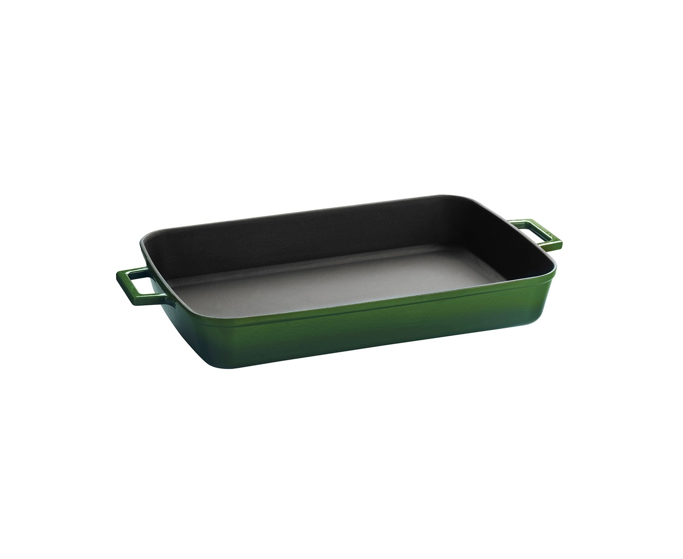 Litinový pekáč 22x30cm - zelený