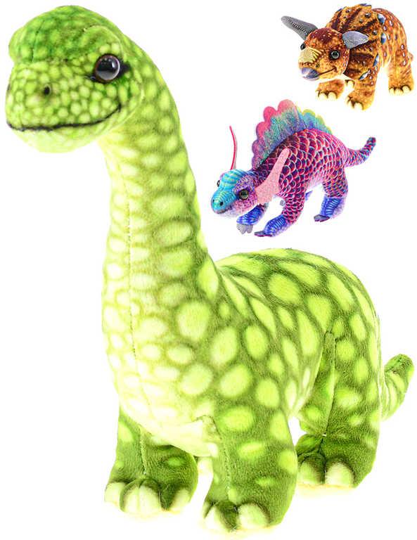 PLYŠ Dinosaurus 18-26cm pravěká zvířátka 6 druhů *PLYŠOVÉ HRAČKY*