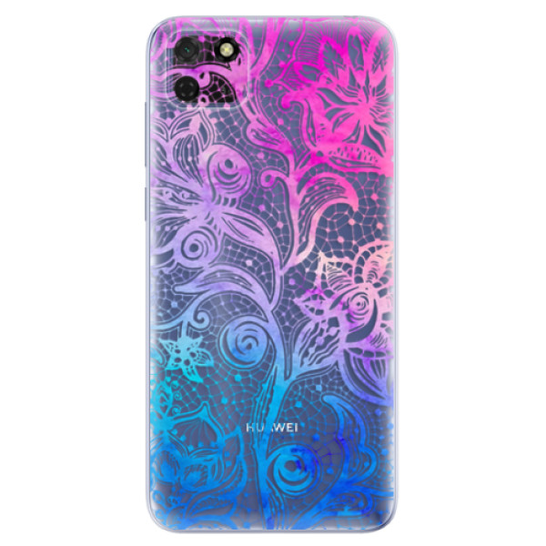 Odolné silikonové pouzdro iSaprio - Color Lace - Huawei Y5p