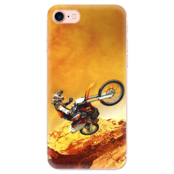 Odolné silikonové pouzdro iSaprio - Motocross - iPhone 7