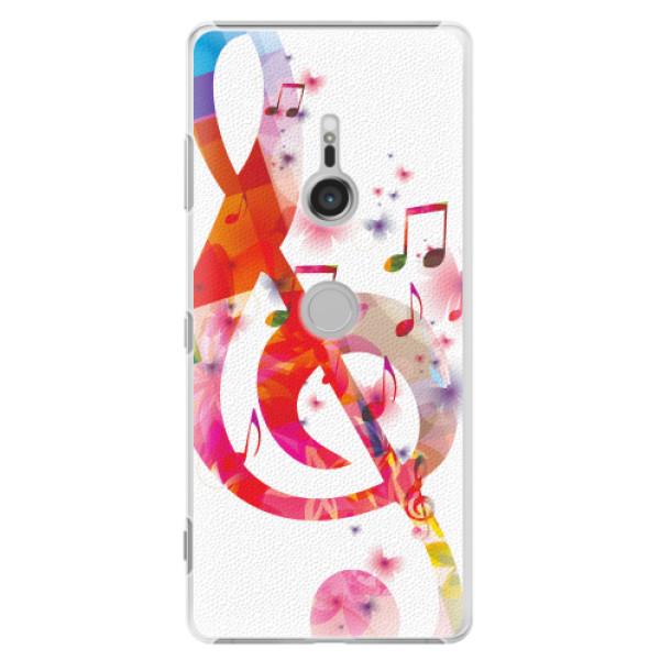 Plastové pouzdro iSaprio - Love Music - Sony Xperia XZ3