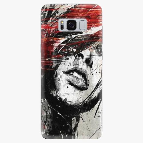 Plastový kryt iSaprio - Sketch Face - Samsung Galaxy S8 Plus