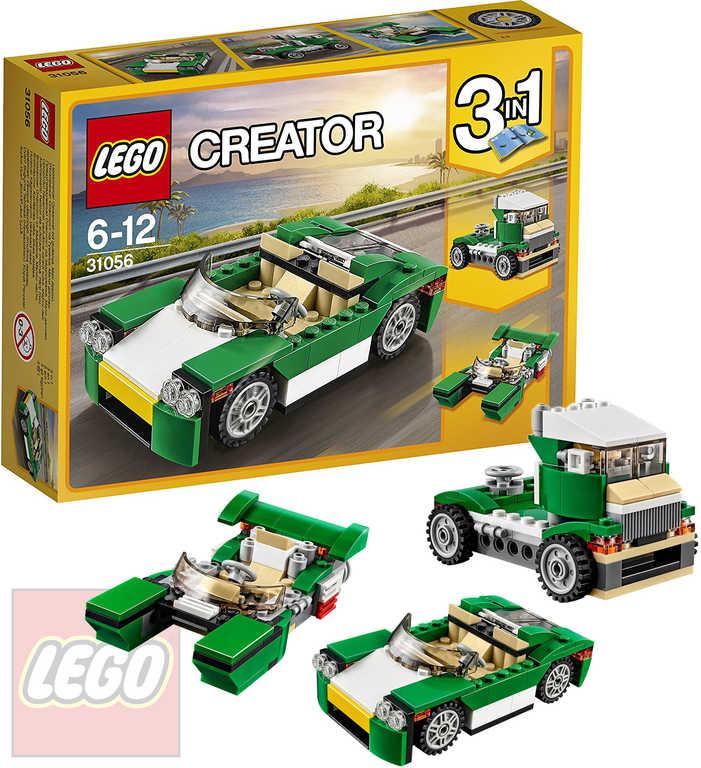 LEGO CREATOR Zelený rekreační vůz 3v1 31056 STAVEBNICE