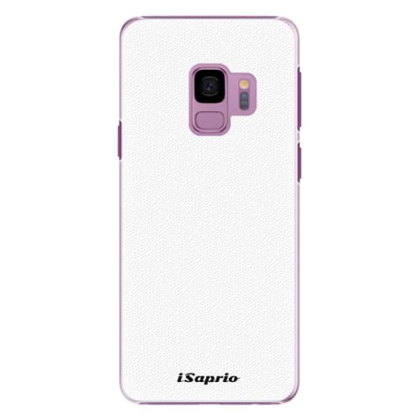 Plastové pouzdro iSaprio - 4Pure - bílý - Samsung Galaxy S9