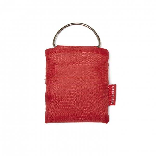 Nákupní taška - klíčenka - Červená