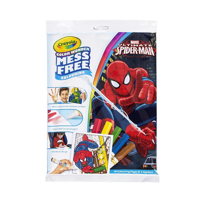 Kouzelné omalovánky - Spiderman