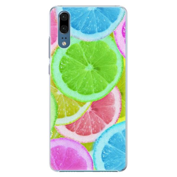 Plastové pouzdro iSaprio - Lemon 02 - Huawei P20