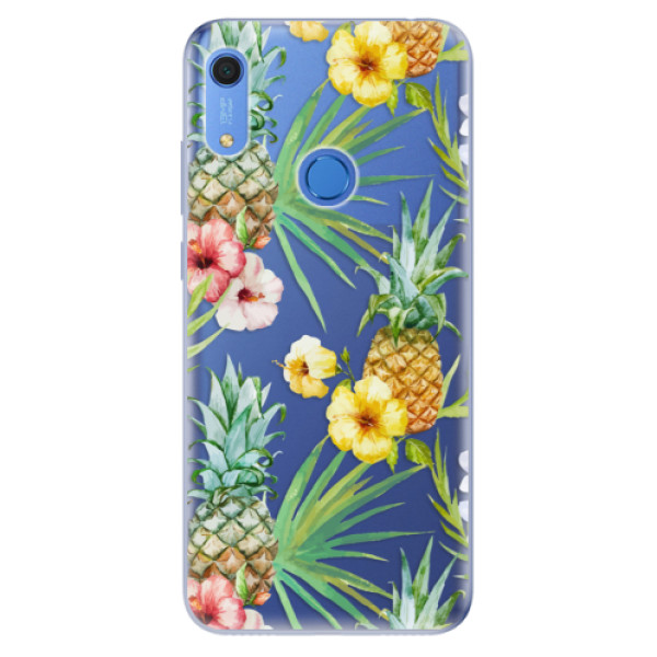 Odolné silikonové pouzdro iSaprio - Pineapple Pattern 02 - Huawei Y6s