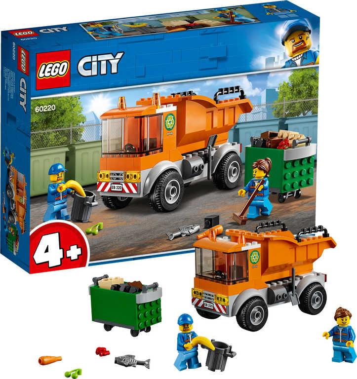 LEGO CITY Auto popelářské 60220