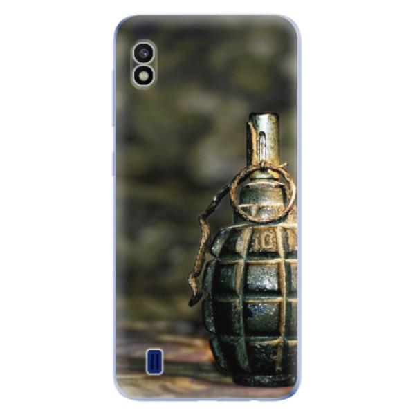 Odolné silikonové pouzdro iSaprio - Grenade - Samsung Galaxy A10
