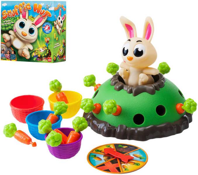 ADC rodinná postřehová Hra Skákající králíček *SPOLEČENSKÉ HRY*