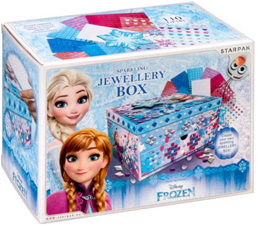 STARPAK Šperkovnice k ozdobení Frozen (Ledové Království)