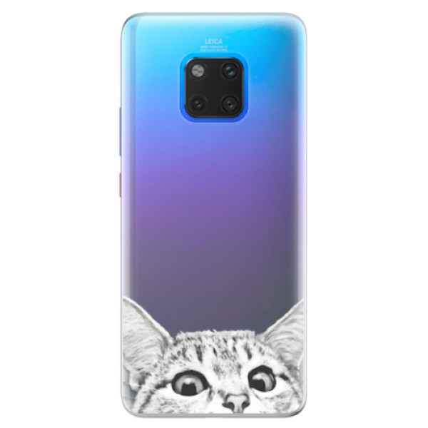 Silikonové pouzdro iSaprio - Cat 02 - Huawei Mate 20 Pro