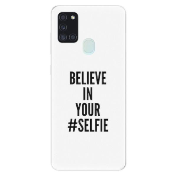 Odolné silikonové pouzdro iSaprio - Selfie - Samsung Galaxy A21s