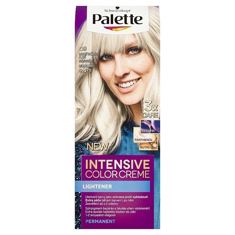 Schwarzkopf Intensive Color Creme barva na vlasy Stříbřitě Plavý C9 (9,5-1)