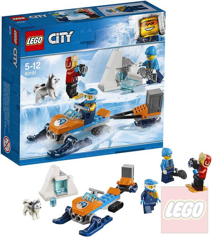 LEGO CITY Průzkumný polární tým 60191 STAVEBNICE