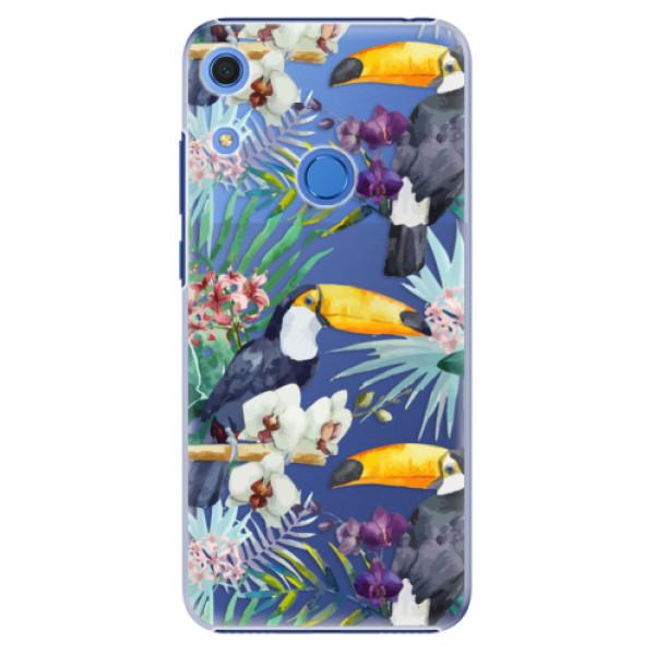 Plastové pouzdro iSaprio - Tucan Pattern 01 - Huawei Y6s