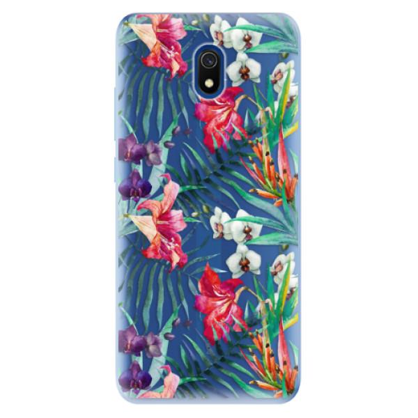 Odolné silikonové pouzdro iSaprio - Flower Pattern 03 - Xiaomi Redmi 8A
