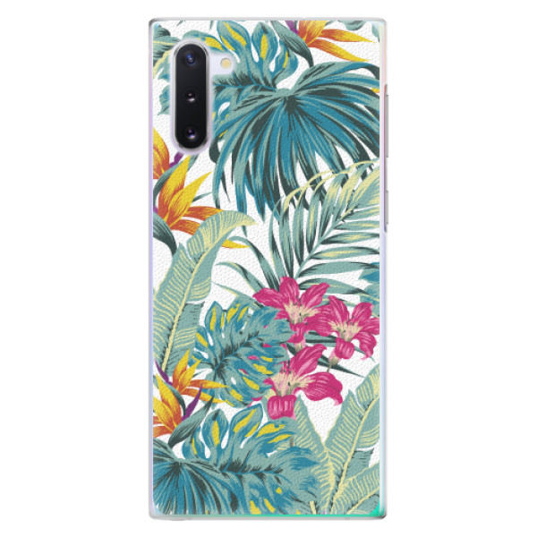 Plastové pouzdro iSaprio - Tropical White 03 - Samsung Galaxy Note 10