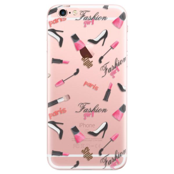 Odolné silikonové pouzdro iSaprio - Fashion pattern 01 - iPhone 6 Plus/6S Plus