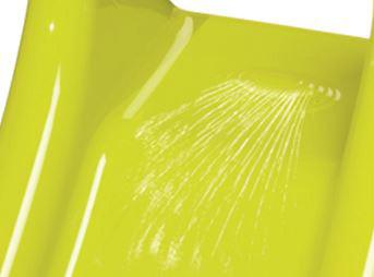 SMOBY Skluzavka zelená Klouzačka s vlhčením 90cm Vel. XS PLAST