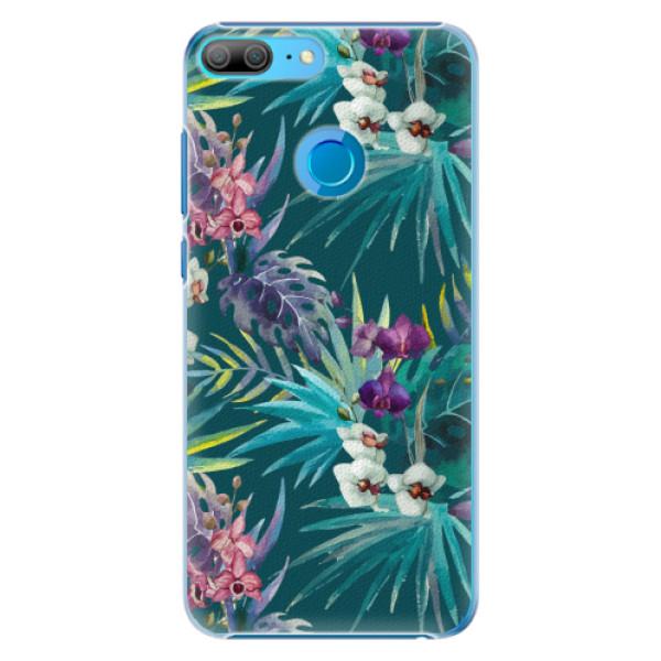 Plastové pouzdro iSaprio - Tropical Blue 01 - Huawei Honor 9 Lite