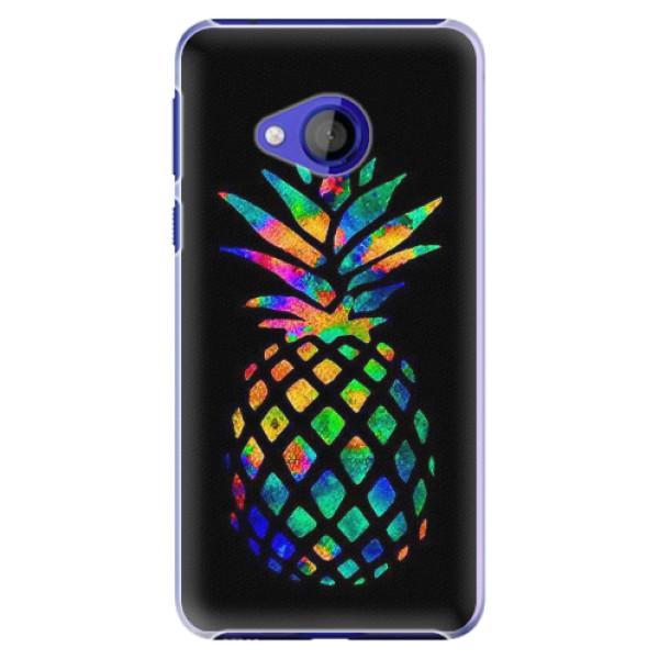 Plastové pouzdro iSaprio - Rainbow Pineapple - HTC U Play