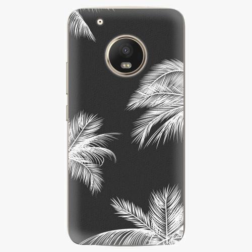 Plastový kryt iSaprio - White Palm - Lenovo Moto G5 Plus
