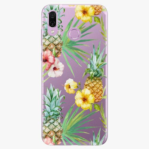 Silikonové pouzdro iSaprio - Pineapple Pattern 02 - Huawei Honor Play