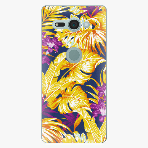 Plastový kryt iSaprio - Tropical Orange 04 - Sony Xperia XZ2 Compact