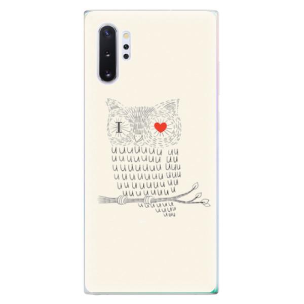 Odolné silikonové pouzdro iSaprio - I Love You 01 - Samsung Galaxy Note 10+