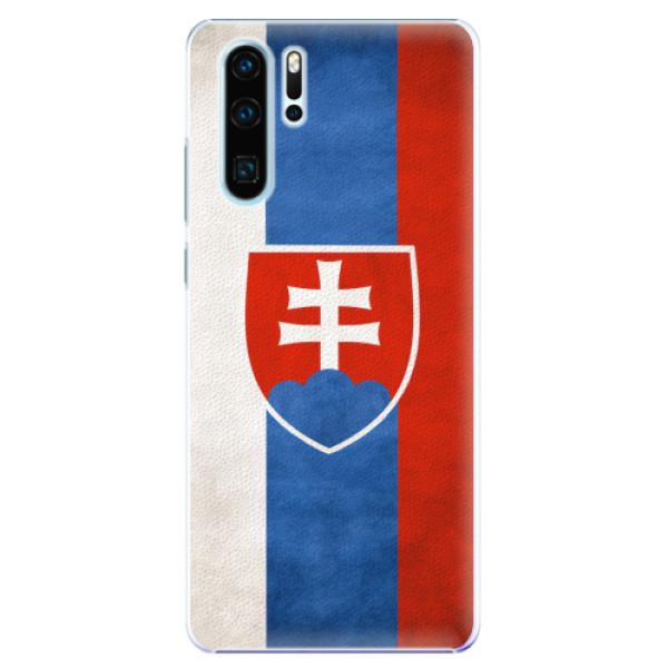 Plastové pouzdro iSaprio - Slovakia Flag - Huawei P30 Pro
