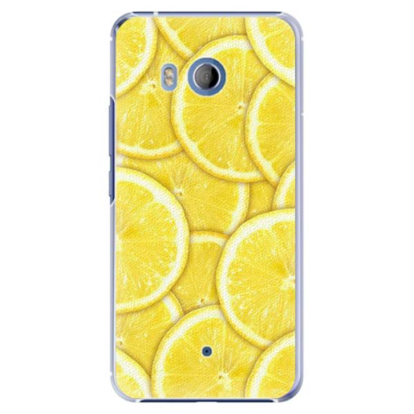 Plastové pouzdro iSaprio - Yellow - HTC U11