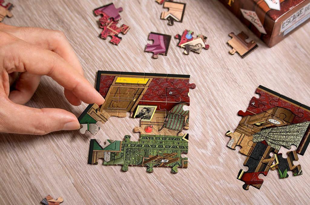 ADC Hra úniková Escape Room Dobrodružné puzzle Tajemství vědy
