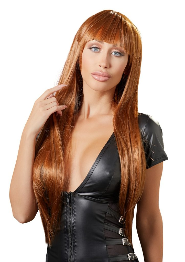 Cottelli Collection Copper Wig Long