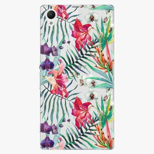 Plastový kryt iSaprio - Flower Pattern 03 - Sony Xperia Z1