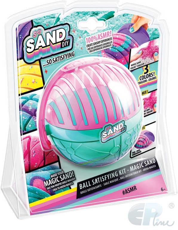 EP Line So Sand kouzelný písek kreativní set s nástroji a doplňky v kouli