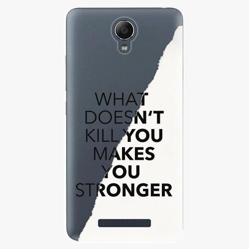 Plastový kryt iSaprio - Makes You Stronger - Xiaomi Redmi Note 2